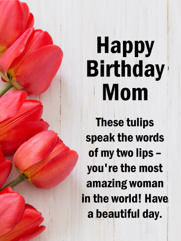 Wishing You All The Best Happy Birthday Card For Mother Birthday Greeting Cards By Dav In 2021 Happy Birthday Mom Happy Birthday Mother Happy Birthday Mom Images