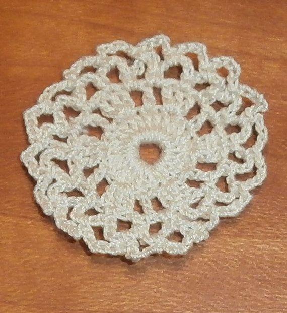Dollhouse Miniature Crochet Doily (RG)