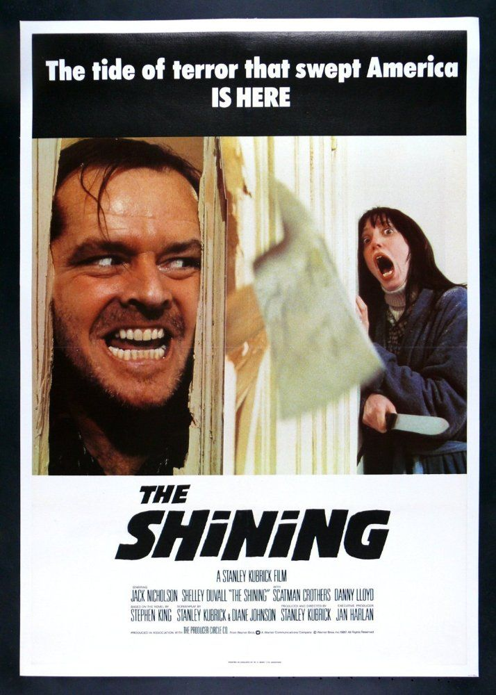 The Shining 1980 The Shining Poster The Shining Best Psychological Thriller Movies