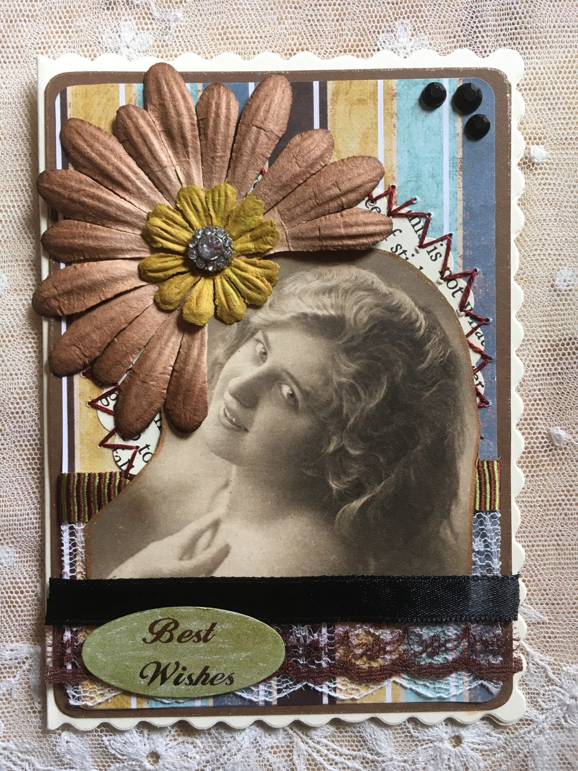 A personal favourite from my etsy shop httpsetsyuk a personal favourite from my etsy shop httpsetsy ribbon cardshandmade greetingsbrown kristyandbryce Images
