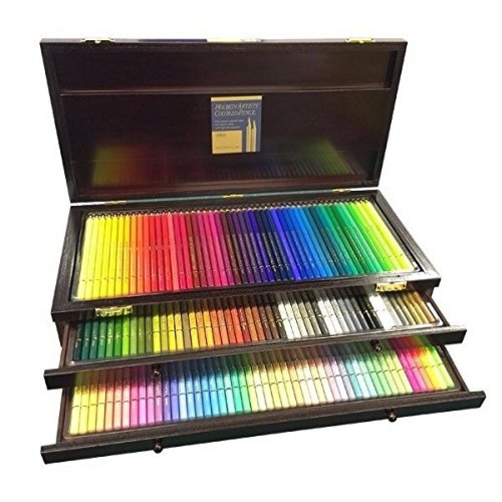 Holbein Artist Colored Pencil 150 Colors Set Coisas De Papelaria