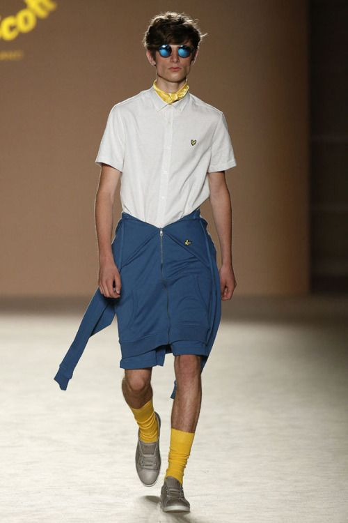 Lyle & Scott SS17.  menswear mnswr mens style mens fashion fashion style lyleandscott runway