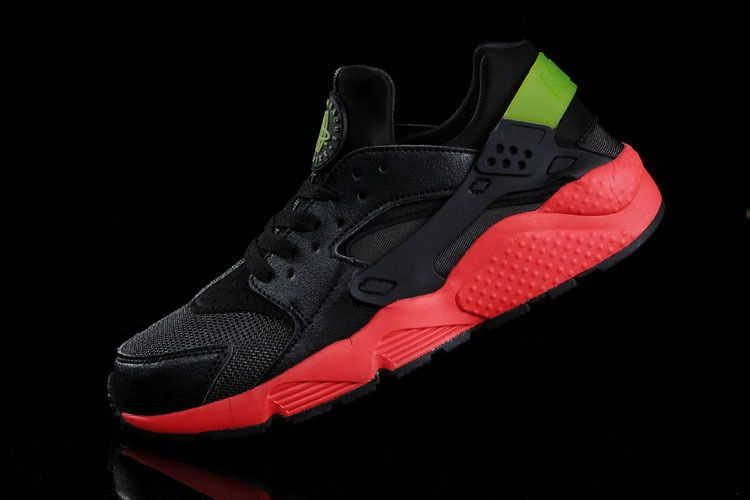 half off 40b5f d72cb WMNS Nike Air Huarache Hyper Punch Challenge Red Electric Green Black