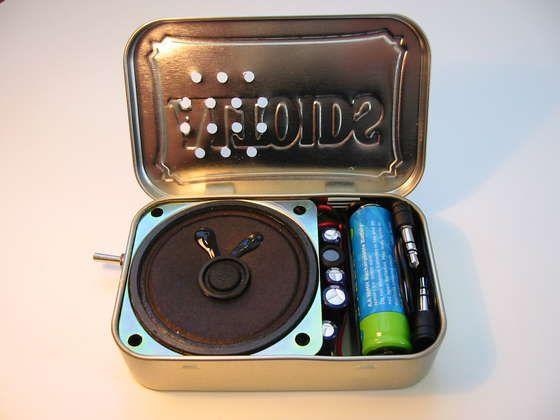 Altoids speaker