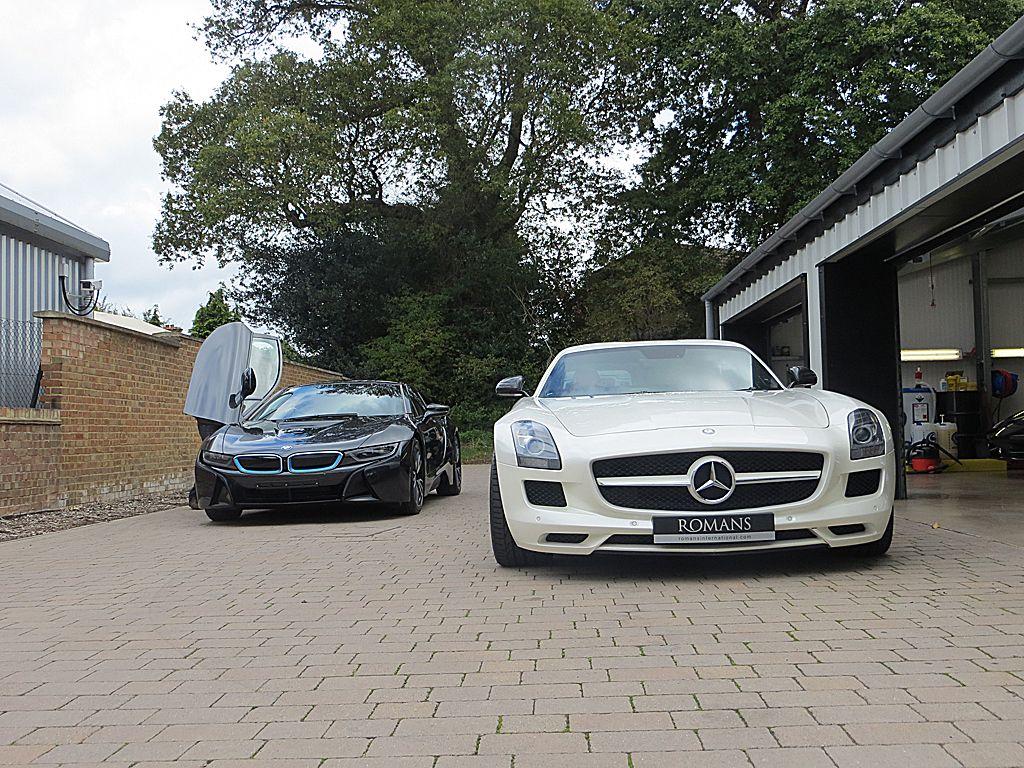 BMW i8 vs SLS AMG Doors | Cars and motorbikes | Pinterest ...