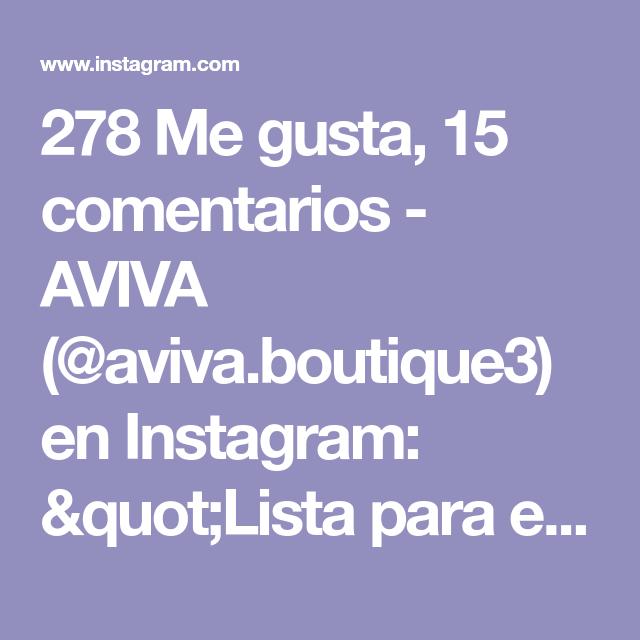 278 Me Gusta 15 Comentarios Aviva Aviva Boutique3 En Instagram Quot Lista Para El Verano Mira Este Hermoso Vestido Perfecto Para Las Actividades Y Sali