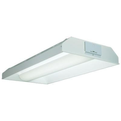 Lithonia Lighting 2 Ft X 4 Ft Avante 2 Light White Multi Volt T8 Fluorescent Volumetric Troffer With Lamps 2av Lithonia Lighting Lithonia Volumetric Lighting