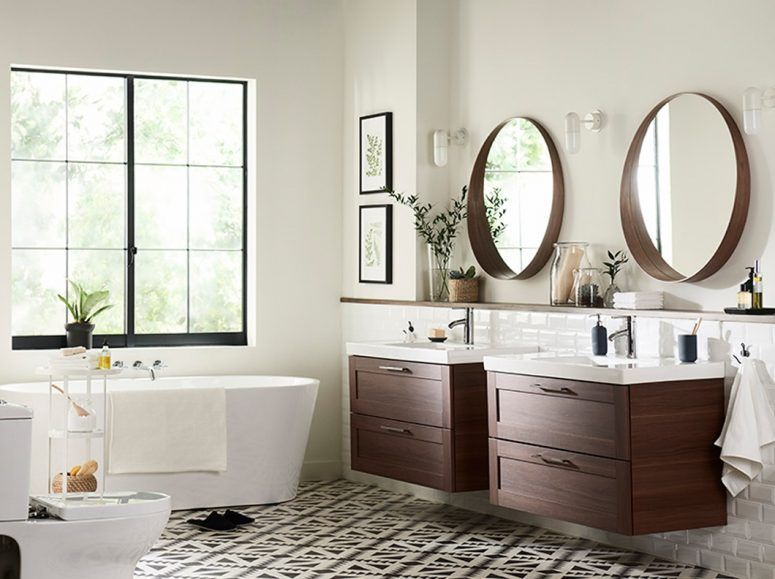 Ikea badezimmerteppich ~ Bathroom ikea bathroom sink cabinet round stainless steel light