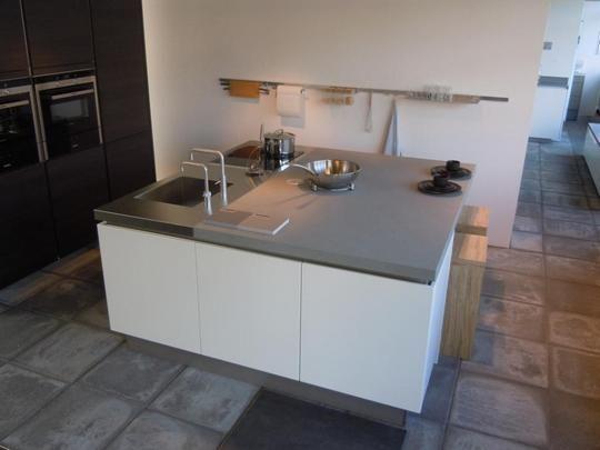 Eiland keuken mat lak eiken terra huis inrichting koken pinterest - Centraal koken eiland ...