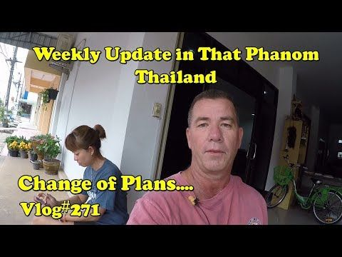 Living in Thailand Weekly Update (Subscriber meet up and changed travel plans)