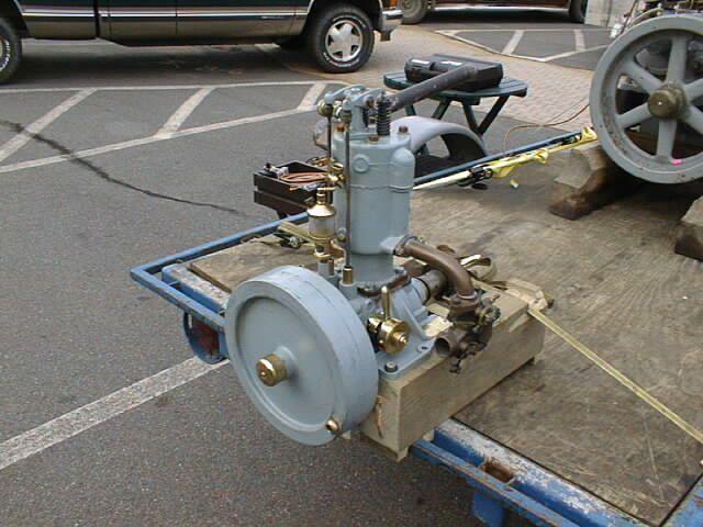 Old Marine Engine Calvert 07 With