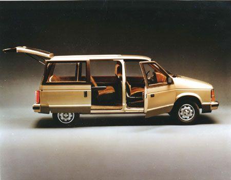 Period 1980 1985 Model Chrysler Minivans Product Sliding Doors Mini Van Car Used Cars