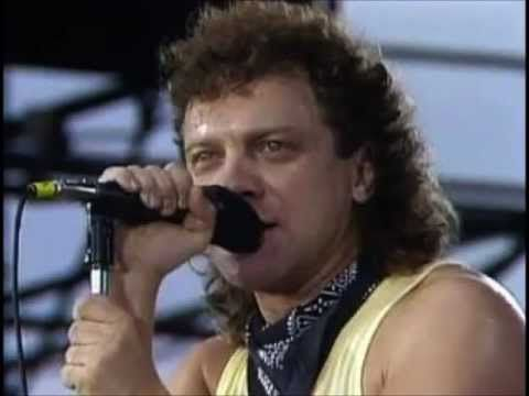 That Was Yesterday Hq Foreigner Lou Gramm Live At Le Zenith Paris France 1985 Lou Gramm Youtube Round Sunglass Men