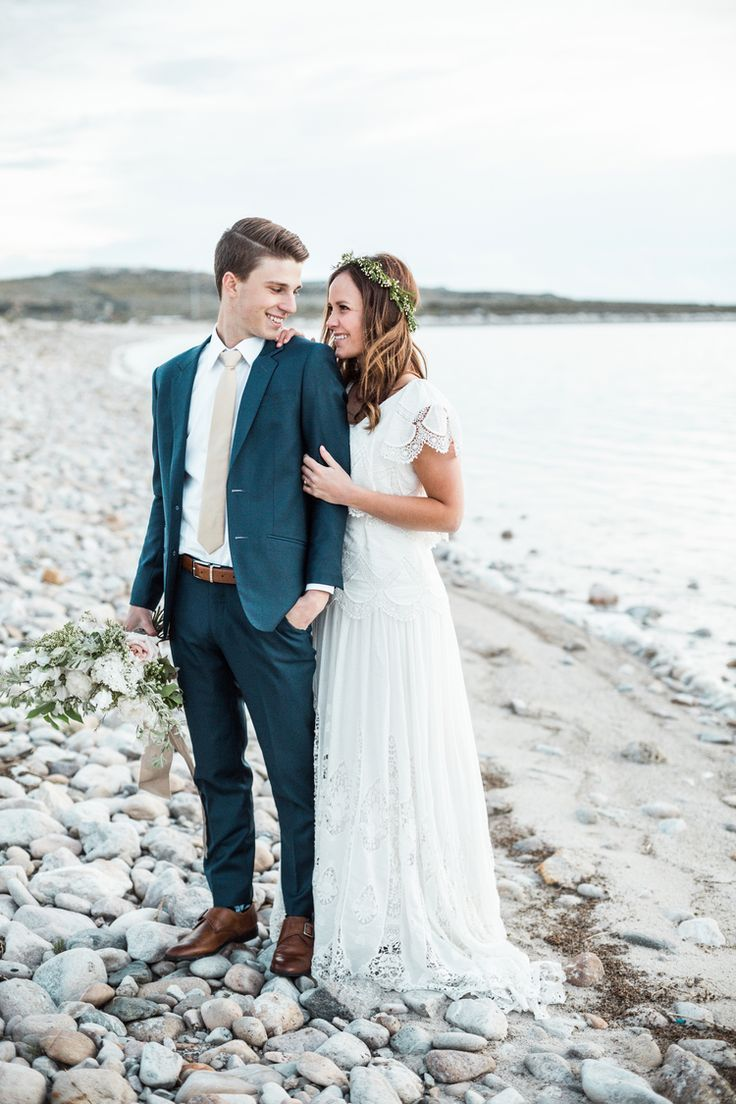 modest wedding dress with flutter sleeves from alta moda. -- (modest ...