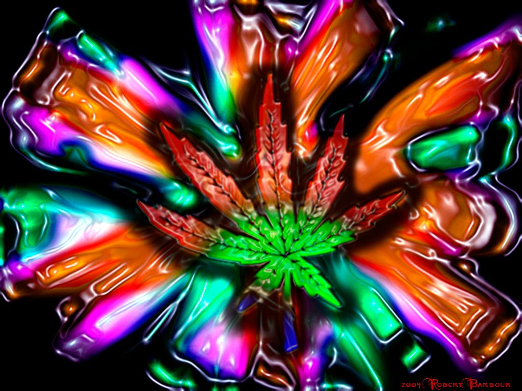 Trippy Rasta Weed Backgrounds Desktop