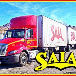 Saia Motor Freight - North Las Vegas, NV, United States. Saia Triples in Beatty, Nevada. This truck is from the North Las Vegas terminal.
