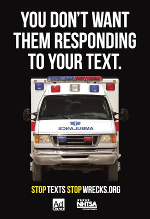Inactive Campaign Texting While Driving Drive Safe Quotes