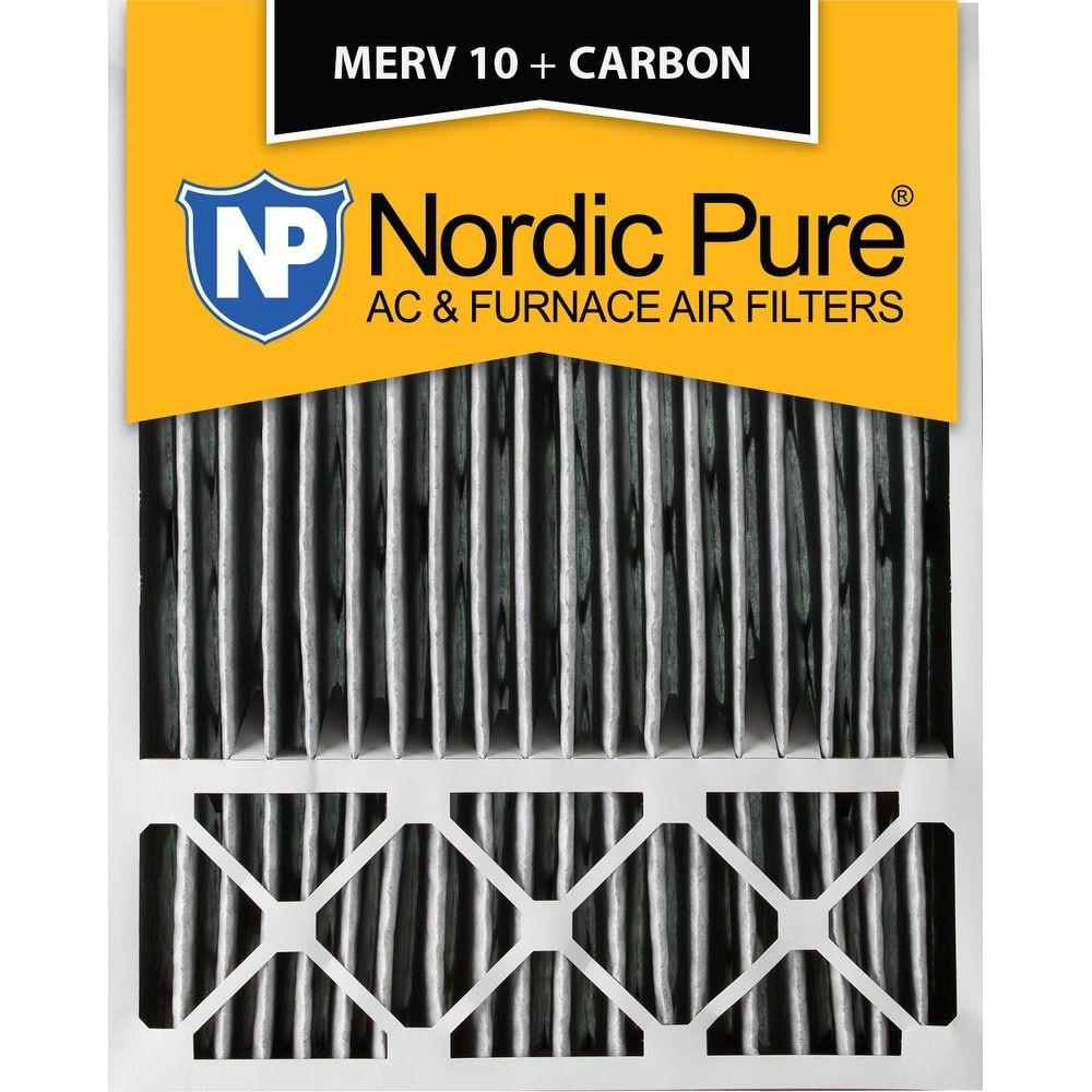 Nordic Pure 20x25x5 Honeywell Replacement Pleated MERV 10