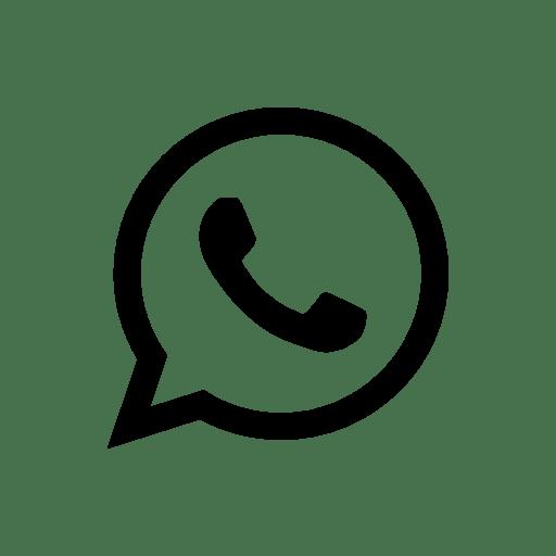 Whatsapp Icon Vector Desain Tipografi Pola Doodle Gambar Kehidupan