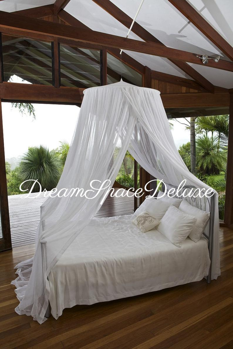 Pure Cotton Mosquito Net Round Pure products, Bed net