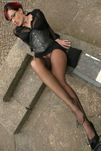 French pantyhose photos