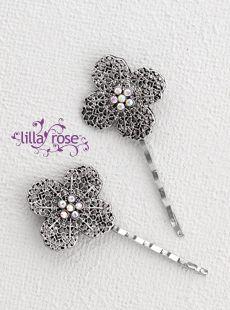 Elegant Flower Bobby Pins
