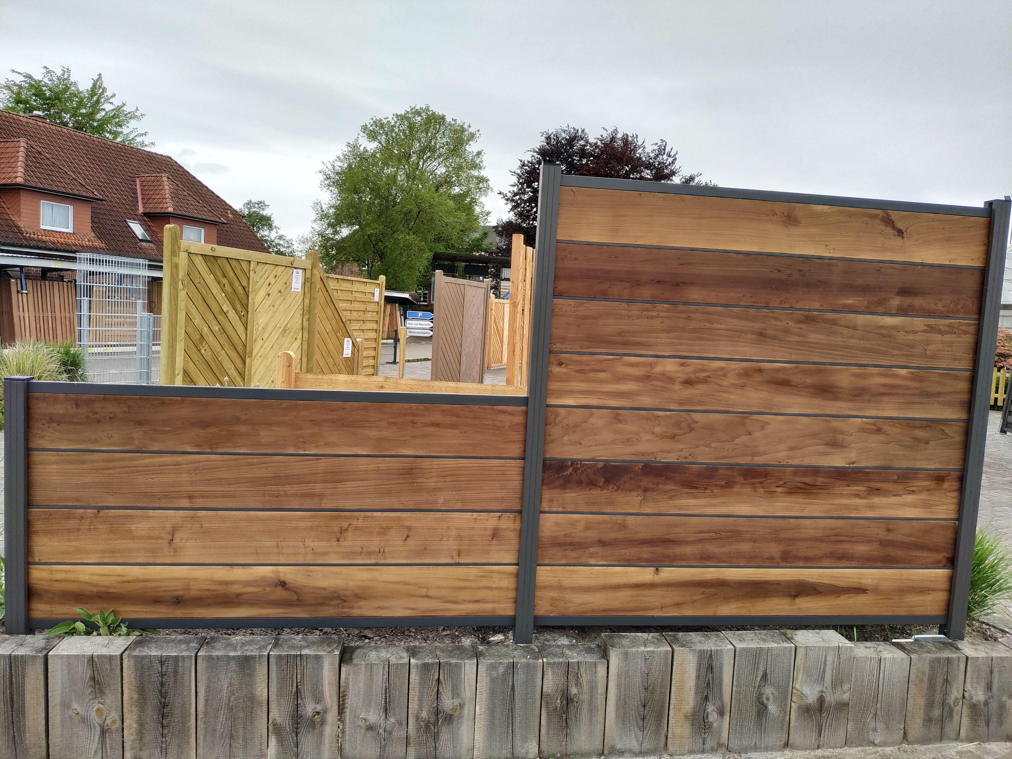 Pin von LignaGard GmbH auf Sichtschutz Gartenzaun holz