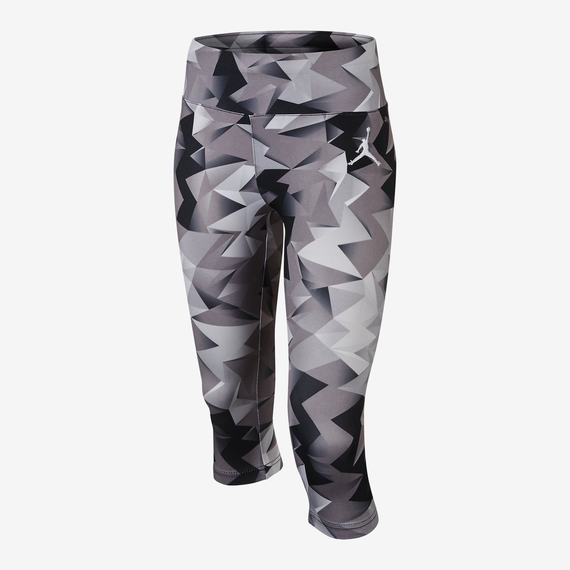 Nike Jordan Sublimation Printed Leggings Girls Black