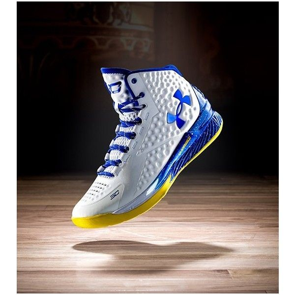 Under Armour | Stephen Curry One Basketball Shoes ❤ liked on Polyvore