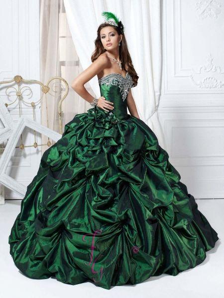Elegant wedding dress tumblr color