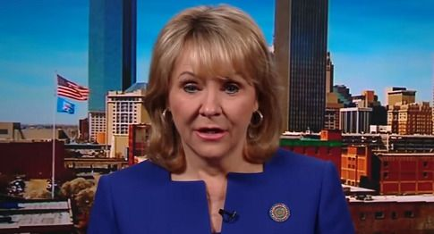 Republican governor defends her veto of bill that would ban abortion in Oklahoma