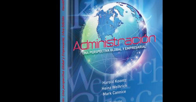 libro administracion una perspectiva global harold koontz pdf