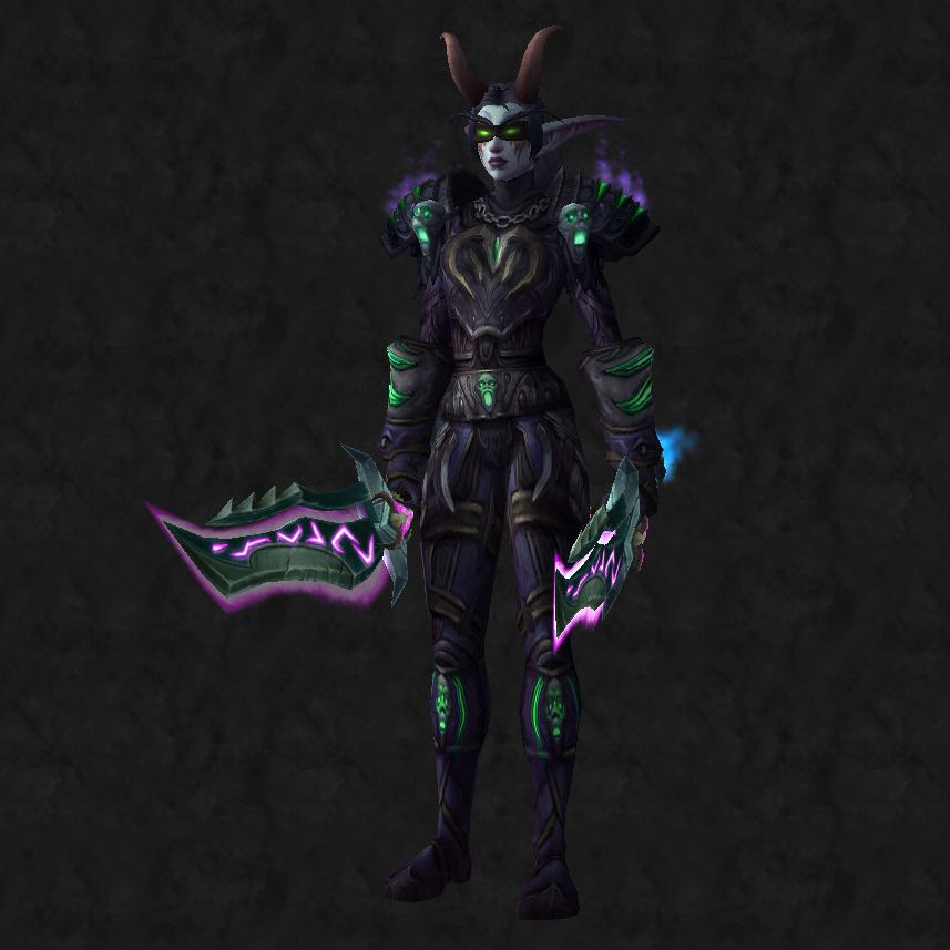 Transmogrification Demon Hunter Leather Item Models Guide ...