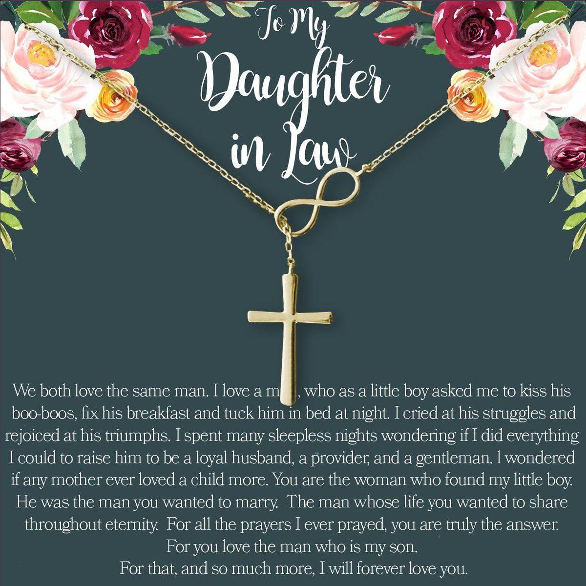 Daughterinlaw necklace dear ava friend necklaces
