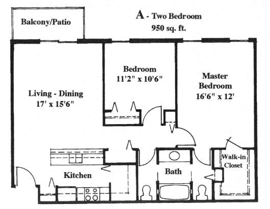 Apartment With 950 Square Feet Garage Apartment Floor Plans Apartment Floor Plans House Plan With Loft