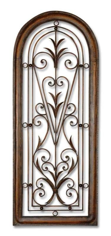Wrought Wall Decor Pretty