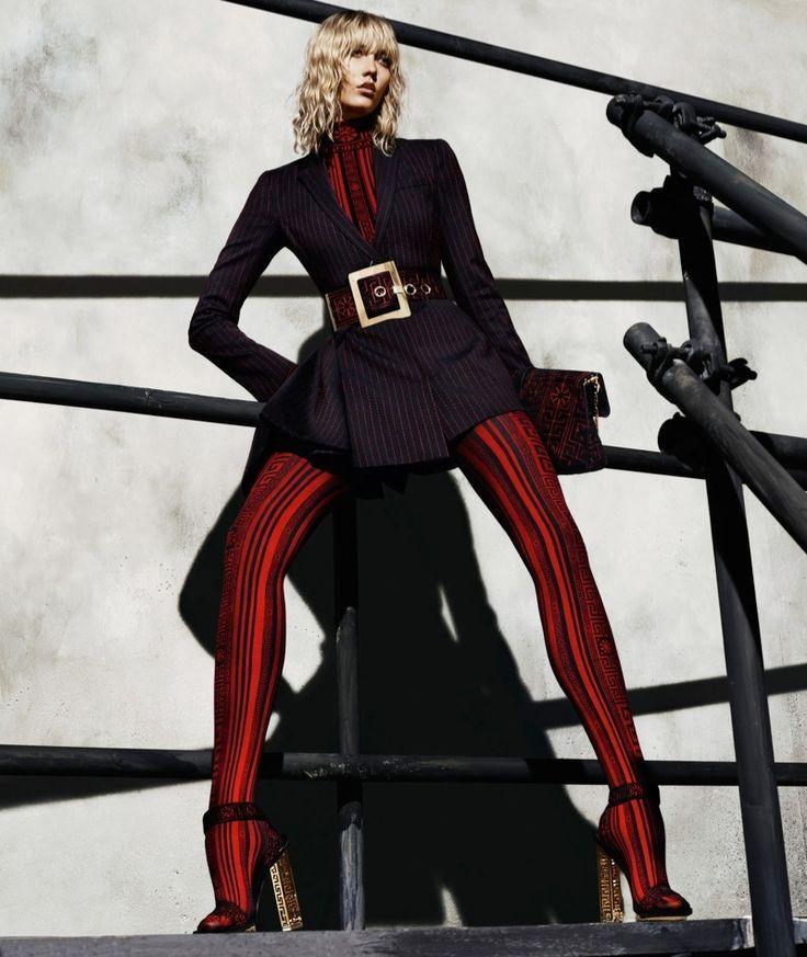 Versace 2015/16 FW campaign