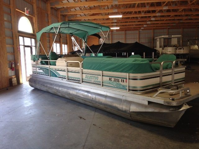 24 0 Feet 1997 Manitou 24legacy Pontoon Deck Boat For Sale