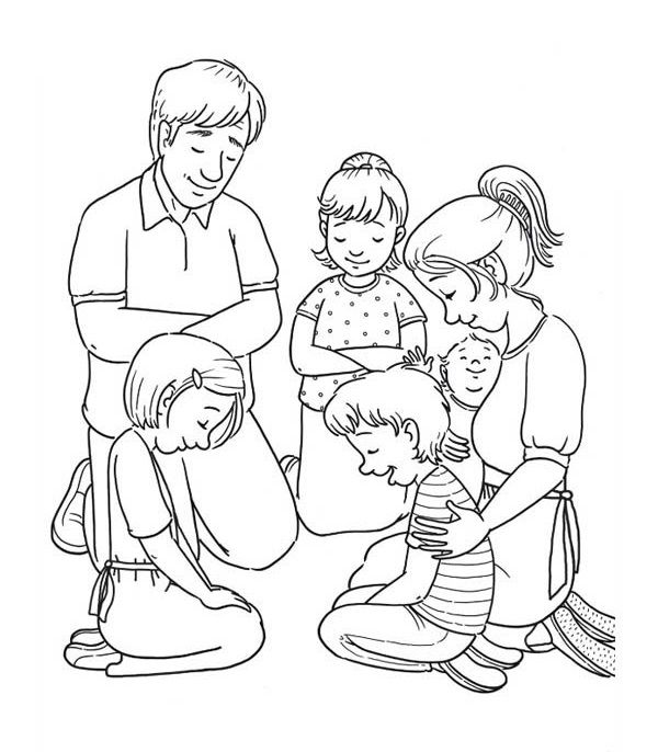 familie zum ausdrucken mit bildern  bibel malvorlagen
