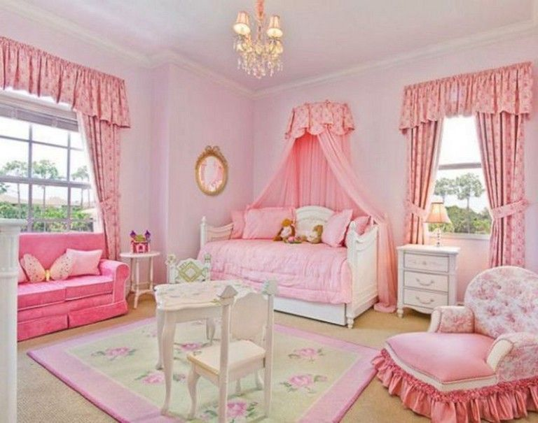 45+ Beautiful Disney Princess Bedroom Ideas for Your Beloved Kids images