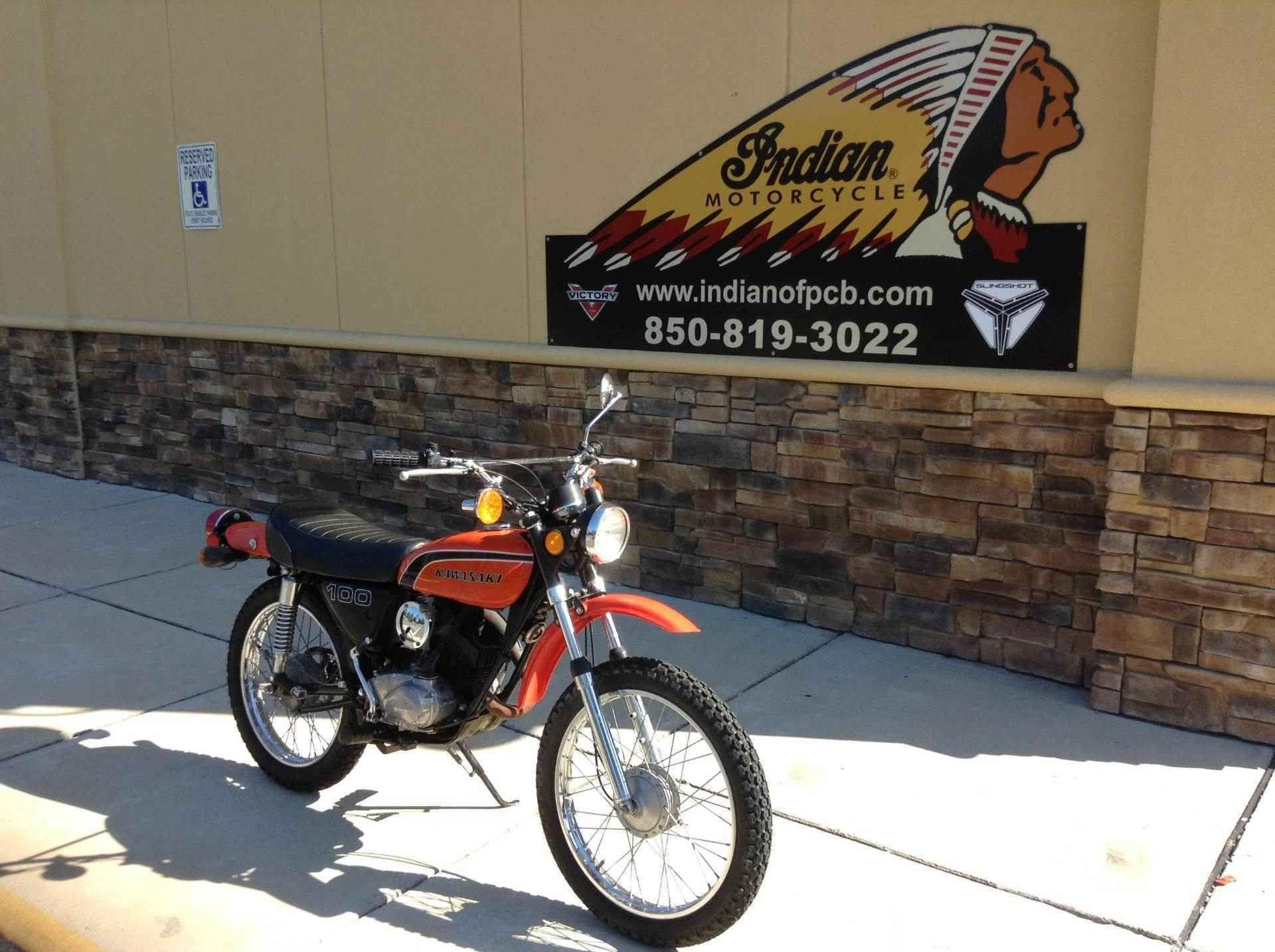 1974 Kawasaki G5 100 Motorcycle Motorcycles For Sale Kawasaki