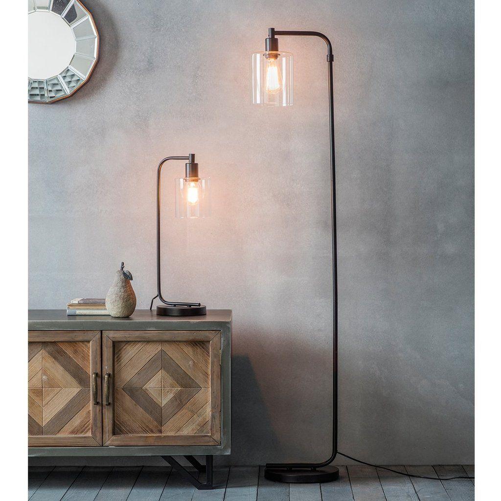 Gallery Chicago Industrial Floor Lamp Vloerlamp Interieur Hanglamp