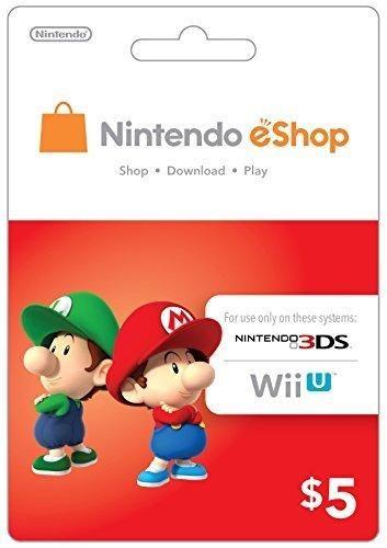 eCash - Nintendo eShop Gift Card $5 - Switch / Wii U / 3DS ...