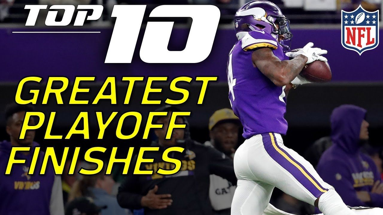 Top 10 NFL Playoffs Finishes of AllTime NFL Highlights
