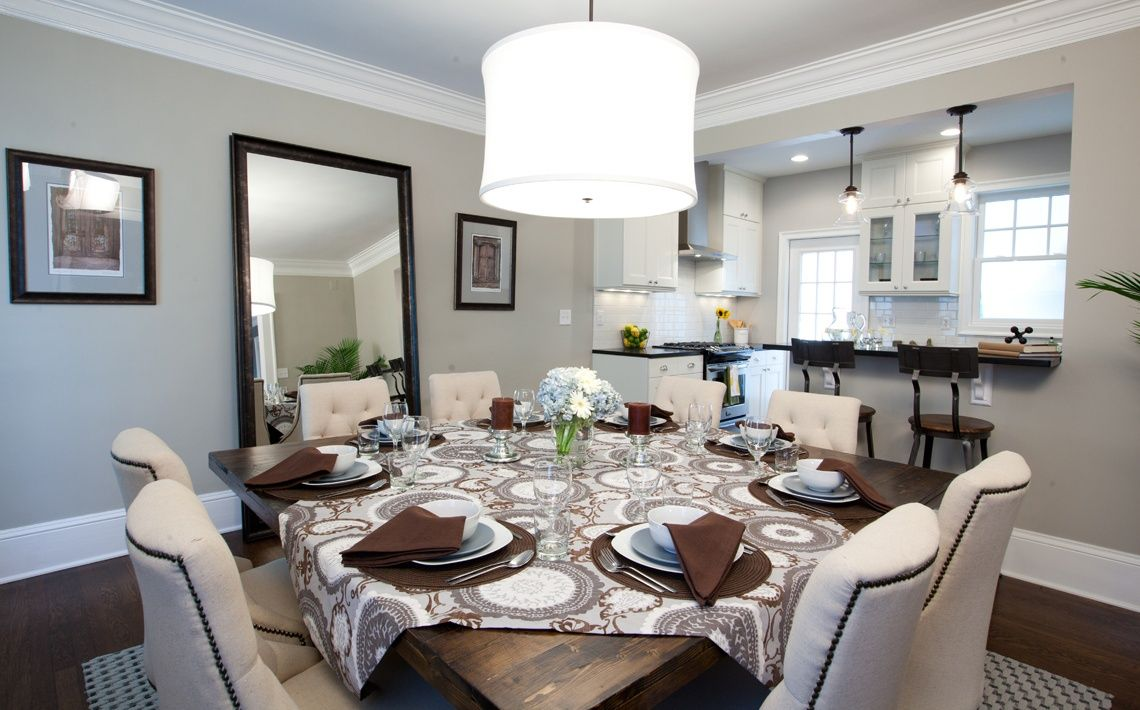 Dining Room inspiration from the Property Brothers ...