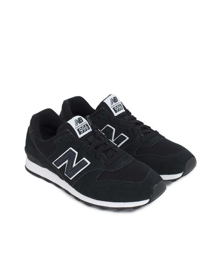 Black New Balance® trainers | Zapatillas deportivas mujer ...