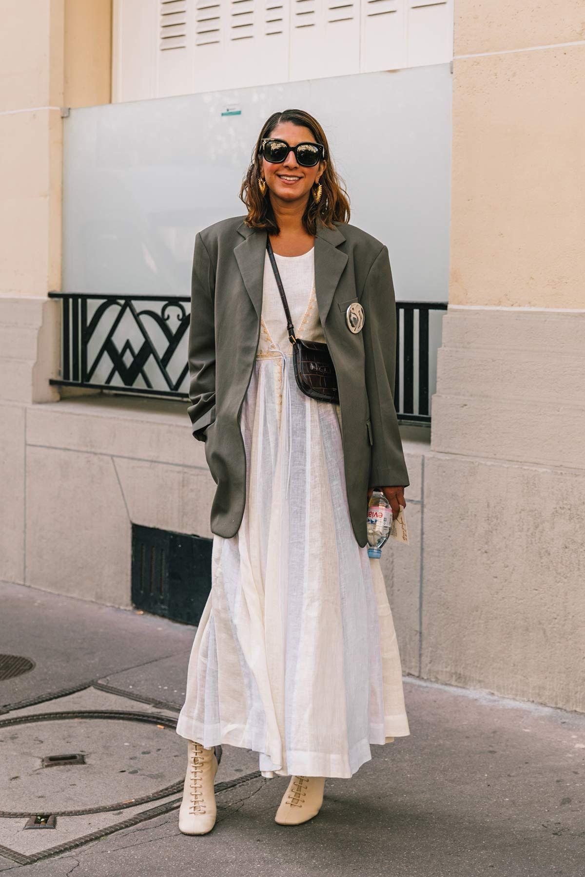 Best Street Style Looks of PFW Spring   FS  Pinterest  Street
