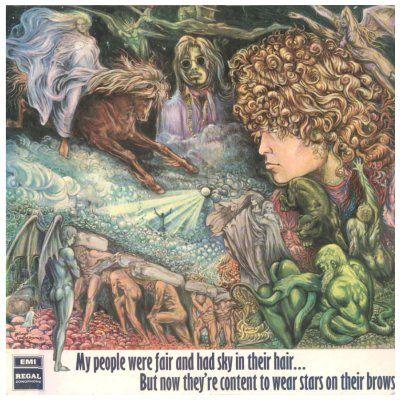 T REX MARC BOLAN T-shirt album 60 s 70 s style Vintage Tour Tyrannosaurus Rex LP
