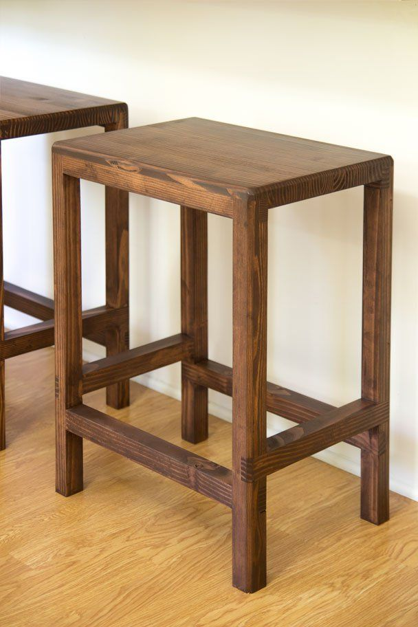 Ana White Build A 2 X 4 Bar Stools Featuring Jays