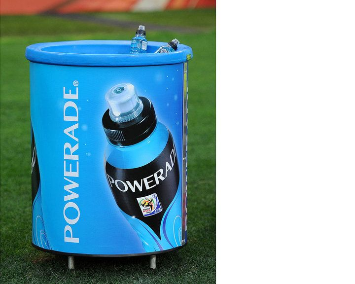 d47c6c9ae6 Powerade FIFA 2010 World Cup Cooler by Ferreira Design Company. We love  soccer!
